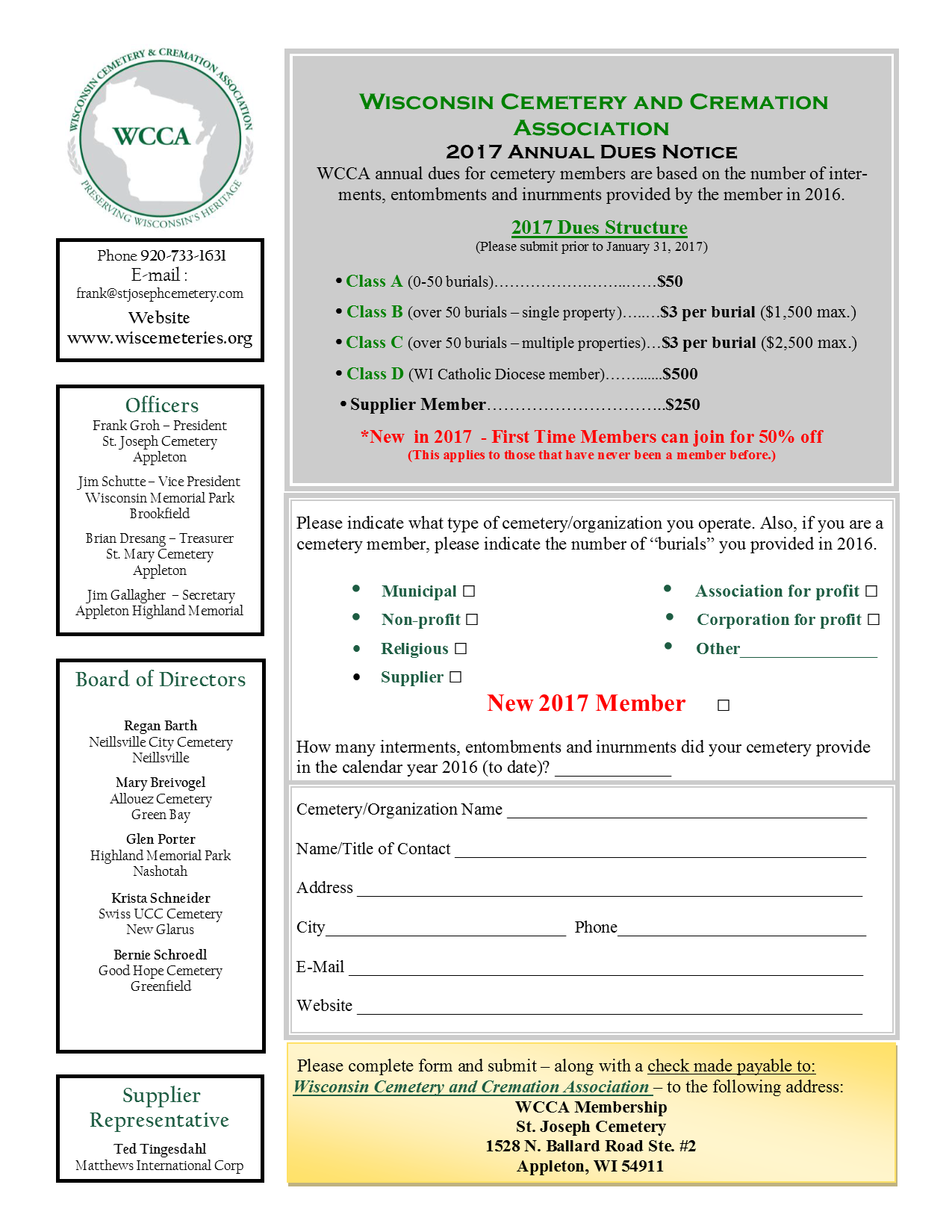 Membership-Annual-Dues-Form
